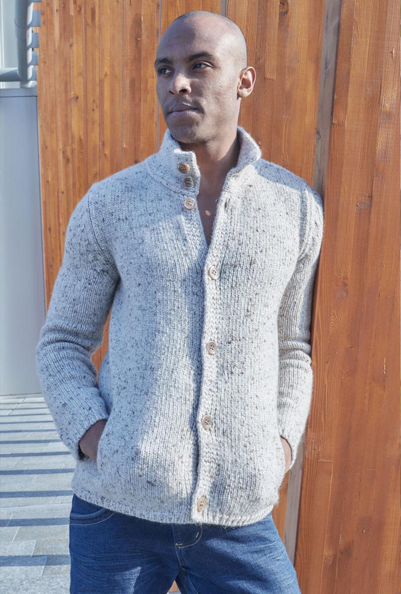 Cardigan 100% cashmere